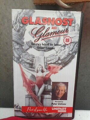 GLASNOST AND GLAMOUR - Peter Ustinov - Rare VHS