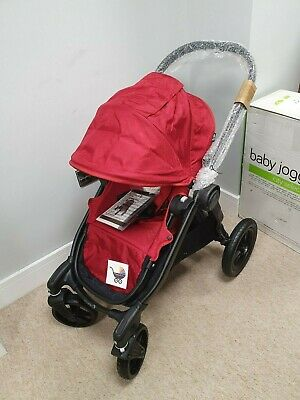 Baby Jogger City Select Single - Garent/Red/Black Pushchair Stroller BRAND NEW