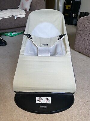 Baby Bjorn Bouncer - Neutral Colour - Perfect Condition! Hardly Used!