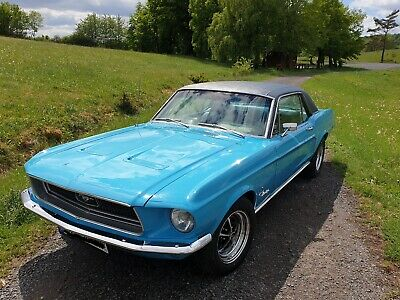 1968 Ford Mustang Coupé V8 289, Matching Number, TÜV H, Original,