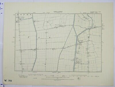 1892 OS 6 inches to a mile Map of Lincolnshire – Northlands CNW
