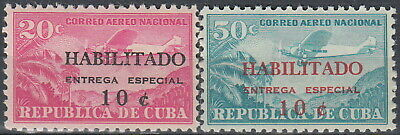 X Airmail Special Delivery O/P 1960 MNH-6 Euro