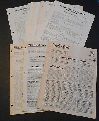 Hudson Motor Car Company Bulletin Parts & Price List 1978