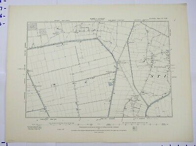 1891 OS 6 inches to a mile Map of Lincolnshire – Stickford XCNW