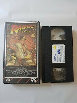 Raiders Of The Lost Ark VHS - CIC Edition
