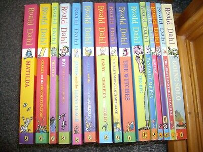 Roald Dahl Collection: 15 Books by Roald Dahl . Never Read Excellent condition.
