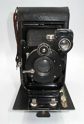 *Rare* Ica Nixe Folding Bed Camera Made For Roll Or Plate Film