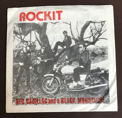 """Rockit """" Red Cadillac And A Black Moustache"""" Revolver REV 5 Reissue"""