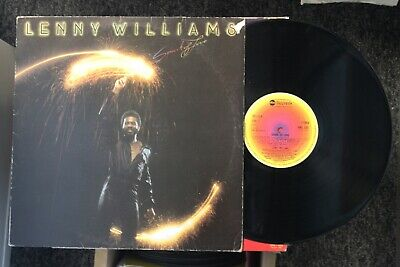 Soul/Funk LP LENNY WILLIAMS - SPARK OF LOVE on ABC RECORDS