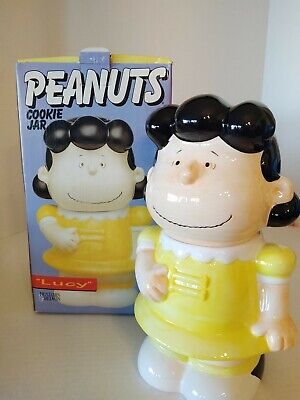 Peanuts Lucy Cookie Jar  with Original Box