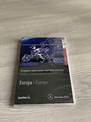 Garmin Map Pilot2020/2021 SD Speicherkarte A2139064607 Original Mercedes Benz