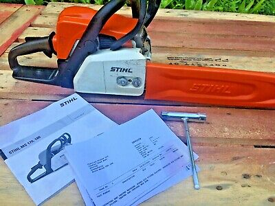 "MS180 Stihl Petrol Chainsaw 14"" Bar and Chain"