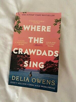 Where The Crawdads Sing by Delia Owens (2019, Paperback) Used, Good Condition