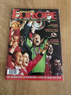 Kings of Europe, Manchester United official Champions League 1999 - Mint Poster