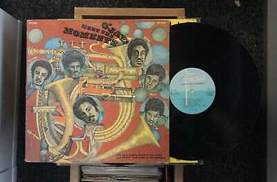 Soul/Funk LP O'JAYS MEET THE MOMENTS on STANG RECORDS