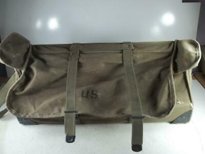 Us Military Canvas Signal Corp Linemans Tool Bag - Vintage - Usa Made