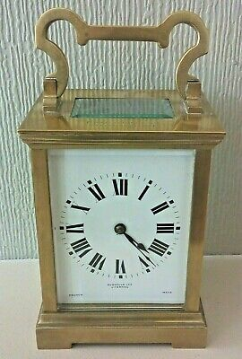 Beautiful Chiming Carriage Clock - French Movement