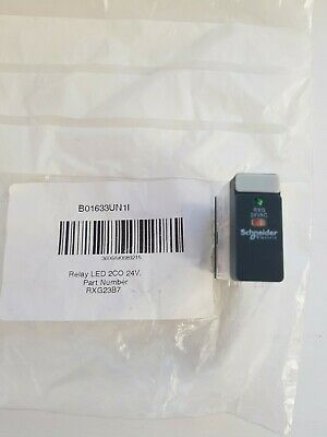 Schneider Electric Zelio RXG23B7 DPDT Non-Latching Relay Plug In, 24VAC coil, 5A