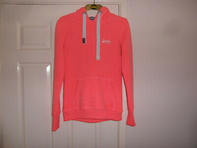 Superdry (Orange Label) used a size S and Coral in colur hoodie