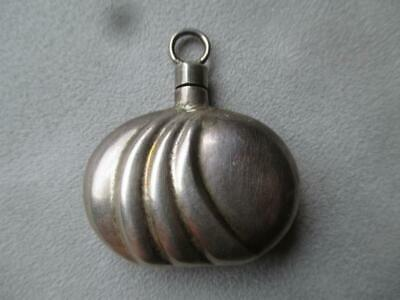 Wonderful Mexican Sterling Silver Perfume Bottle