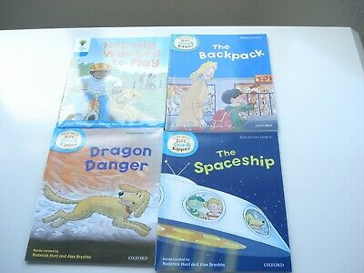 4 Oxford Reading Tree Books 2 Level 3 and 2 Level 4
