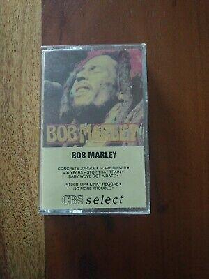 Bob Marley Cassette Cbs Delect Compilation 1985.