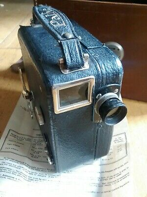 Superb Military Owned Pathe Moto Pathescope 9mm Cine Movie Film Camera