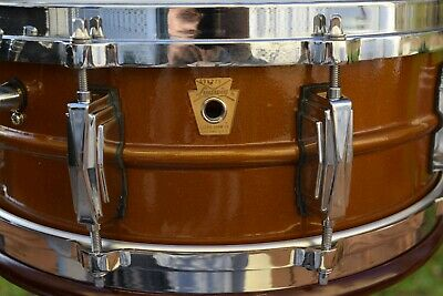 Vintage Ludwig Supraphonic Caramel Snare Drum one of a kind !!! NO RESERVE