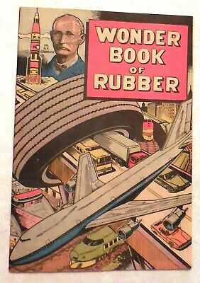 """WONDER BOOK of RUBBER"" (Comic Book by B.F. GOODRICH)  (1972 Edition PRD3-173)"