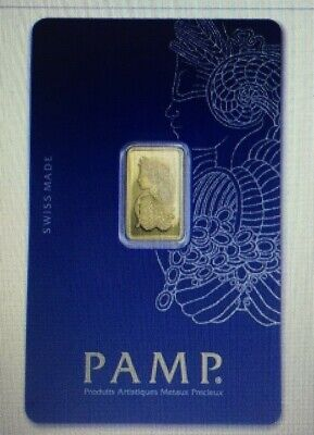 2.5 g -Suisse PAMP GOLD BAR--BUY NOW-SALE!!!