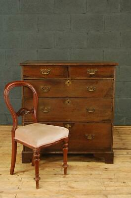 Antique 19th Century George III Oak Chest of Drawers