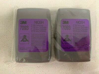 3M 7093 p100 NIOSH Performance Filter Exp 2025
