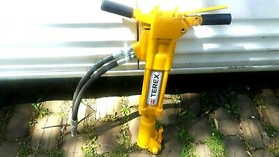 Terex Hydraulic Breaker Like Jcb New Pipes & Connectors  Good Working Order