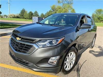 2018 Chevrolet Equinox LT 2018 Chevrolet Equinox LT Rear Backup Camera No Reserve