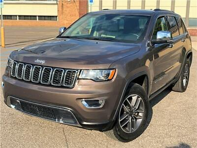 2017 Jeep Grand Cherokee Limited 2017 Jeep Grand Cherokee Limited 4WD Rearcam Sunroof Clean Title No Reserve