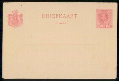 MayfairStamps Suriname 2 1/2 Cent Mint Postal Stationery Card WWE95811