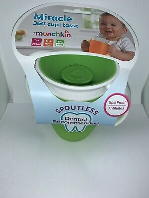 Munchkin  7 Oz Miracle® Trainer Cup Green