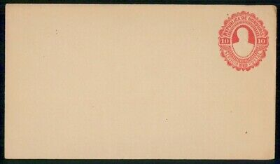 MayfairStamps Honduras 1891 10 Cents Embossed Mint Postal Stationery WWE95759