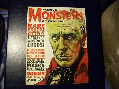 Famous Monsters Of Filmland #9 Vf+ Look