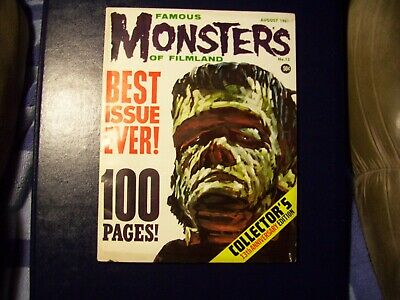 Famous Monsters Of Filmland#13 Vf++  100 Pages