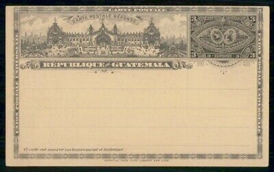 MayfairStamps Guatemala 1897 AD 3 Cents Mint Postal Stationery Card WWE95763