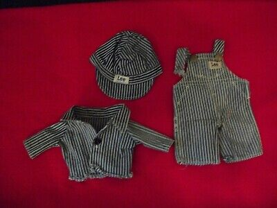 VERY RARE AUTHENTIC BUDDY LEE DOLL CLOTHING—3 pcs.
