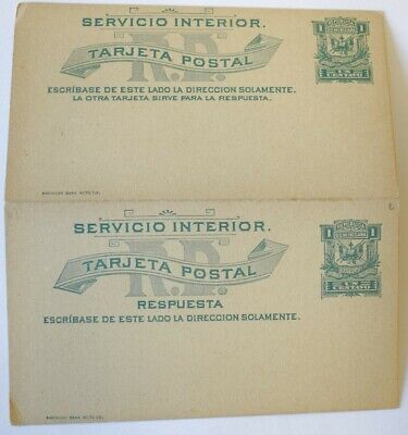 MayfairStamps Dominican Republic Interior Service 1 Cent Mint Postal Stationery