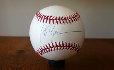 Peter Gammons - MLB Sportswriter - Autographed Official Major League Baseball