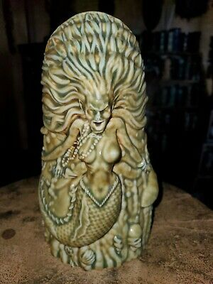 Sold out MUNKTIKI the RED WITCH - Sea Witch GREEN color Tiki mug NEW