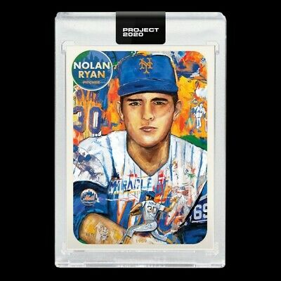 PRESALE Topps Project 2020 #67 Nolan Ryan New York Mets - Andrew Thiele