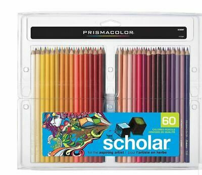 Prismacolor Scholar Coloured Pencils, 60 Pack