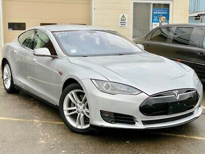 2013 Tesla Model S  Metallic Silver Tesla Model S with 42,821 Miles available now!