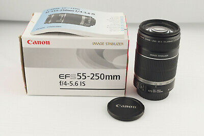 Canon EF-S AF 55-250mm 1:4-5.6 IS Canon Mount OVP # 5442
