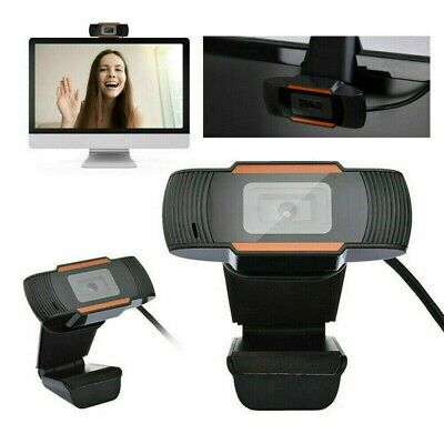 Webcam Universale Con Microfono Videocamera Hd Usb 480P Per Pc Smart Work Skype